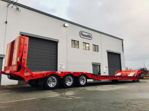 Paving Trailer Pacesetter 2362