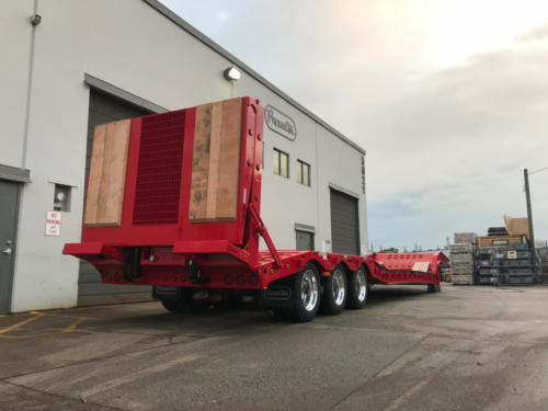 Paving Trailer Pacesetter 2363
