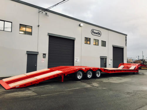 Paving Trailer Pacesetter 2366