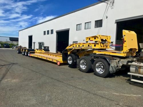 60 Ton Pacesetter Trailer 2934